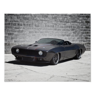 1969 Camaro Roadster Poster