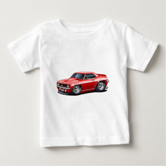 1969 Camaro SS Red Car Baby T-Shirt