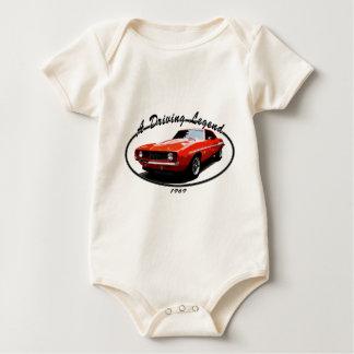 1969_camaro_yenko_orange baby bodysuit