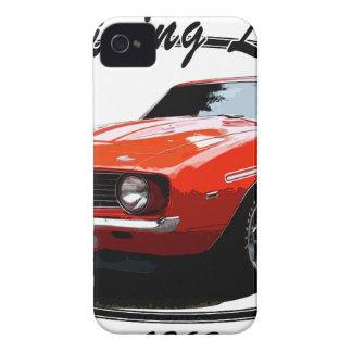 1969_camaro_yenko_orange iPhone 4 cases