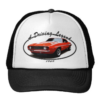 1969_camaro_yenko_orange trucker hat