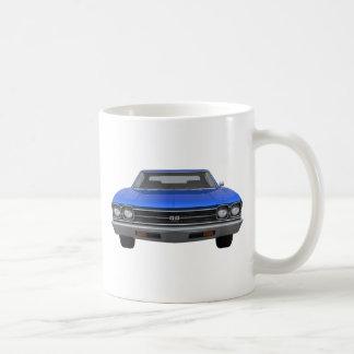 1969 Chevelle SS: Blue Finish Coffee Mug