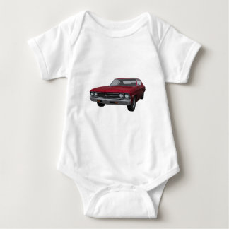 1969 Chevelle SS: Candy Apple Finish Baby Bodysuit