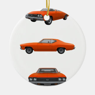 1969 Chevelle SS: Ceramic Ornament