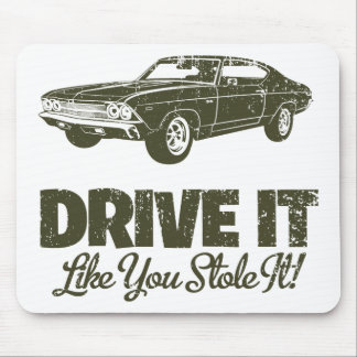 1969 Chevrolet Chevelle 396 SS Mouse Pad