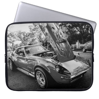 1969 Chevrolet Corvette w/ Motion Performance Eng Laptop Sleeve