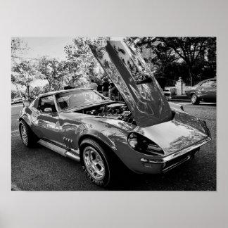 1969 Chevrolet Corvette w/ Motion Performance Eng Poster