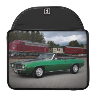 1969 Chevy Camaro Convertible Classic Car Sleeve For MacBooks