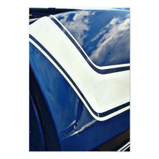 1969 Chevy Camaro invitation