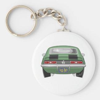 1969 Chevy Camero SS Keychain