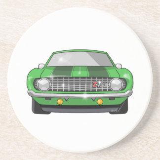 1969 Chevy Z28 Camero Coasters