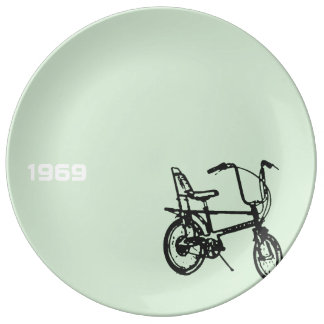 1969 Chopper Bike 3 Porcelain Plate