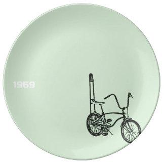 1969 Chopper Bike Decorative Porcelain Plate