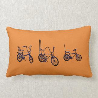 1969 Chopper Bikes Throw Pillow