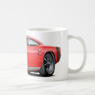 1969 Coronet RT Red-Black Car Coffee Mug