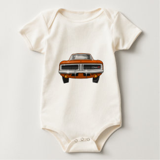 1969 Dodge Charger Baby Bodysuit