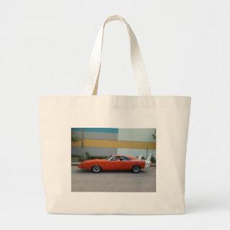 1969 Dodge Charger Daytona 440 Large Tote Bag