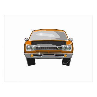 1969 Dodge Superbee Postcard