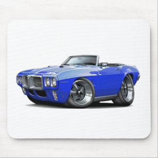 1969 Firebird Blue Convertible Mouse Pad
