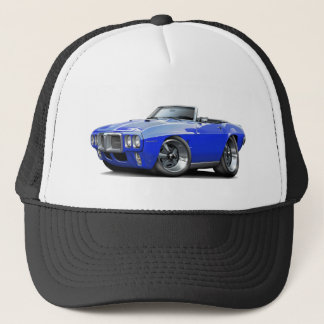 1969 Firebird Blue Convertible Trucker Hat