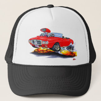 1969 Firebird Red Convertible Trucker Hat
