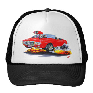 1969 Firebird Red Convertible Trucker Hat