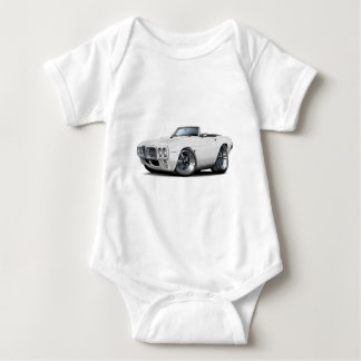 1969 Firebird White Convertible Baby Bodysuit