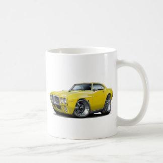 1969 Firebird Yellow Car Basic White Mug