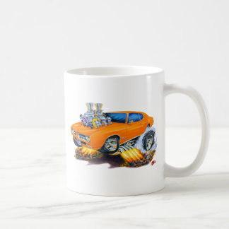 1969 GTO Orange Car Coffee Mug