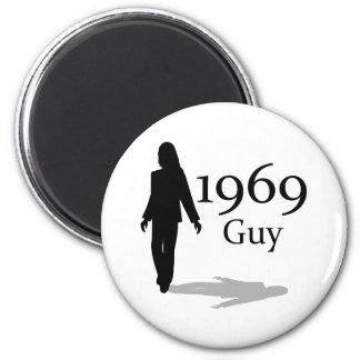 1969 Guy! 2 Inch Round Magnet