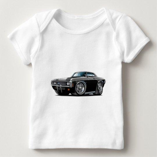 1969 Impala Black Car Baby T-Shirt