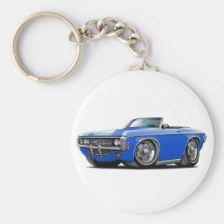 1969 Impala Blue Convert Keychain