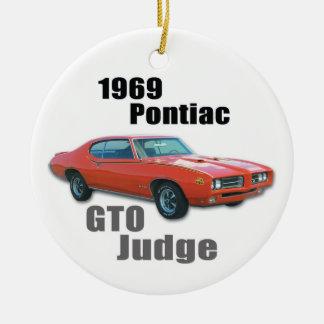 1969 JUDGE CERAMIC ORNAMENT
