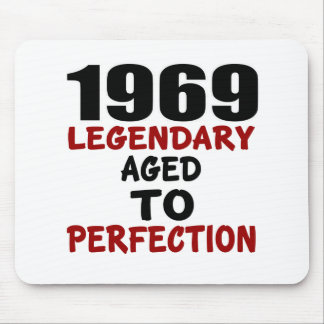 1969 LEGENDARY AGED TO PERFECTION MOUSE PAD