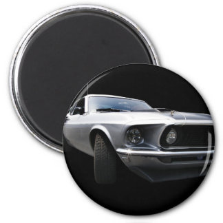 1969 Mustang, front side Magnet