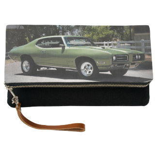 1969 Pontiac GTO Green Classic Muscle Car Clutch