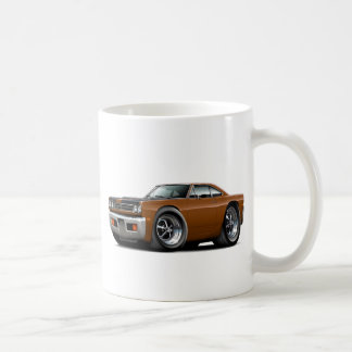 1969 Roadrunner Brown-Black Hood Car Coffee Mug