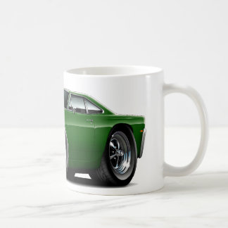1969 Roadrunner Green Car Coffee Mug