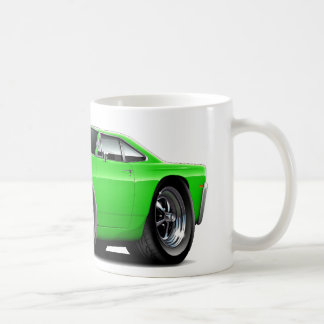 1969 Roadrunner Lime Car Coffee Mug