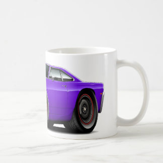 1969 Roadrunner Purple-Black Hood Scoop Car Coffee Mug