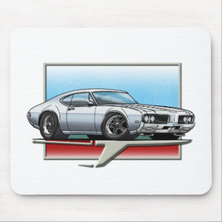 1969 Silver Cutlass Mouse Pad