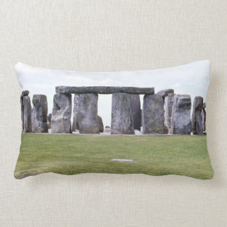 1969 Stonehenge Prehistoric Monument Ancient Decor Lumbar Pillow
