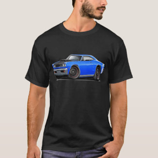 1969 Super Bee Blue-White Stock Wheels T-Shirt