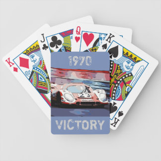 1970 24 Hours of Le Mans Bicycle Playing Cards