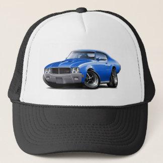 1970-72 Buick GS Blue Car Trucker Hat