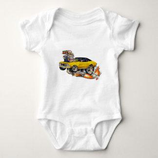 1970-72 Buick GS Gold Car Baby Bodysuit