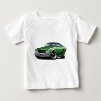1970-72 Buick GS Green Black Top Car Shirts
