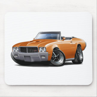 1970-72 Buick GS Orange Convertible Mouse Pad