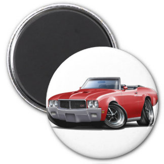 1970-72 Buick GS Red Convertible Magnet
