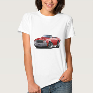 1970-72 Buick GS Red Convertible T Shirts
